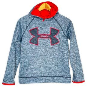 Under Armour Boys Logo Storm Hoodie Sweatshirt